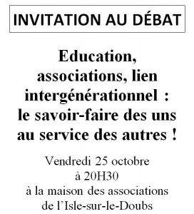 Les rencontres de Passionnément l'Islois : acte II dans L'Isle-sur-le-Doubs en action - CAP sur 2014 capture1-272x300
