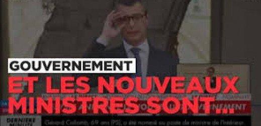 1er gouvernement Macron, du bon et du moins bon…