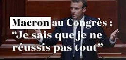 #congrèsdeVersailles E. Macron 09.07.2018